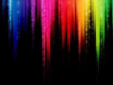 Rainbow Go Launcher Theme Apk Screenshot