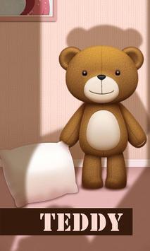 Teddy GO LAUNCHER THEME poster