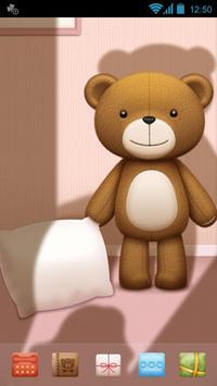 Teddy GO LAUNCHER THEME apk screenshot