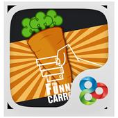 The Funny Carrot GO Theme icon