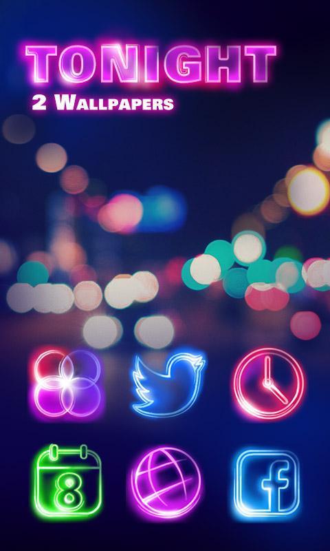 Tonight GO Launcher Theme Poster