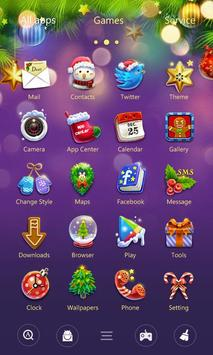 (FREE) X'mas GO Launcher Theme screenshot 5
