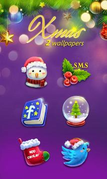 (FREE) X'mas GO Launcher Theme screenshot 2