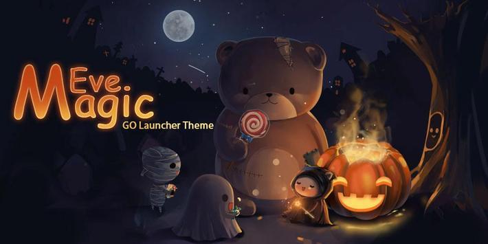 Magic Eve GO Launcher Theme apk screenshot