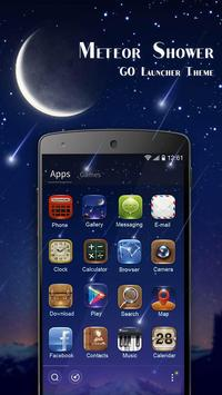 MeteorShower GO Launcher Theme poster