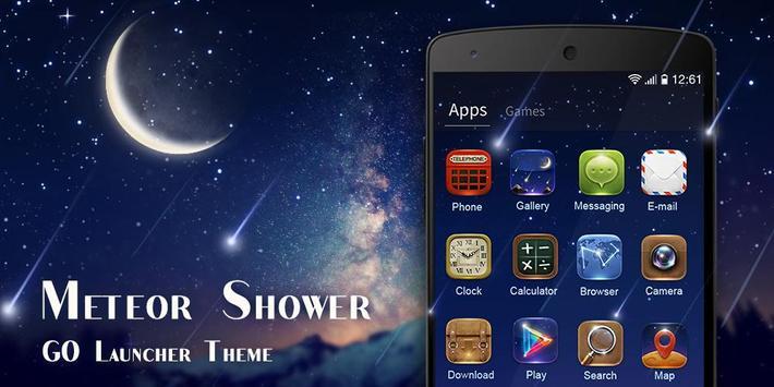 MeteorShower GO Launcher Theme screenshot 1