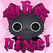 Vampire Kitty Go Launcher icon