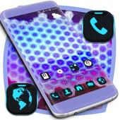 Neon 3d Launcher icon