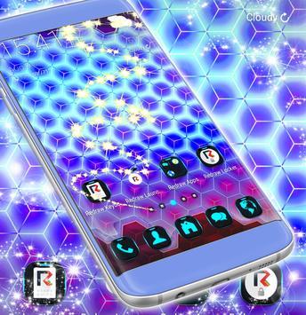 Neon 3d Launcher screenshot 4