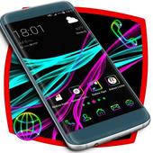 Neon Theme Launcher icon