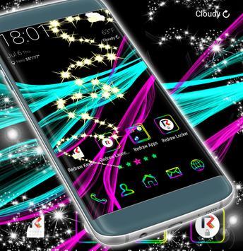 Neon Theme Launcher screenshot 4