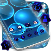 Neon  Bubble Theme for Android icon