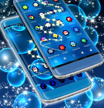 Neon  Bubble Theme for Android apk screenshot