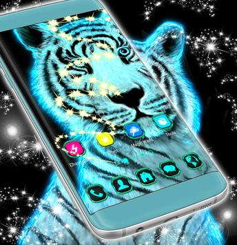 Neon Tiger Theme screenshot 2
