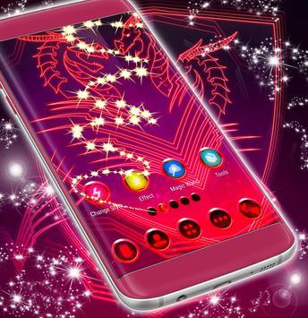 Neon Dragon Themes screenshot 2