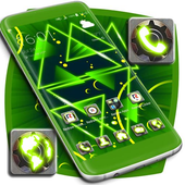 Neon Green Launcher icon