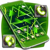 Neon Green Launcher icon