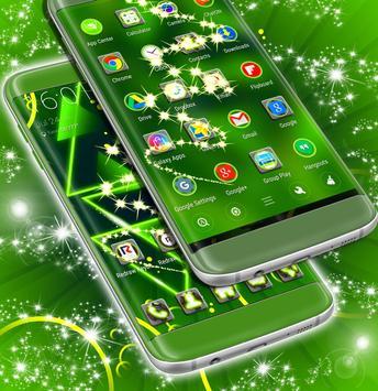 Neon Green Launcher apk screenshot
