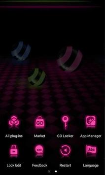 Neon LED Launcher Theme screenshot 4