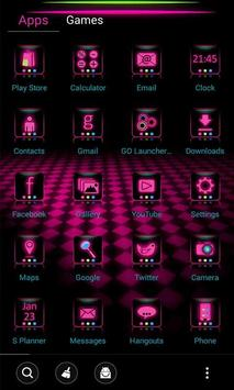 Neon LED Launcher Theme screenshot 2