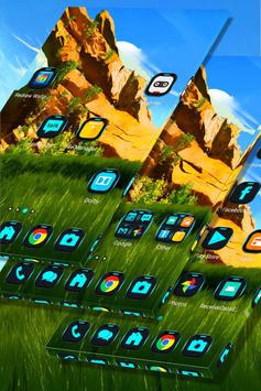 Green Landscape Launcher Theme screenshot 1