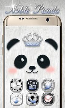 Noble Panda GO Launcher Theme poster