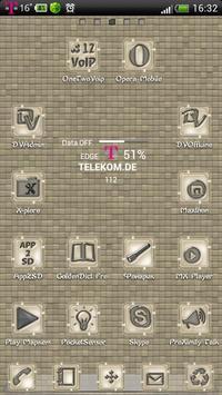 Gentle GO Launcher EX theme poster