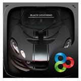 Black Lightning GO Launcher