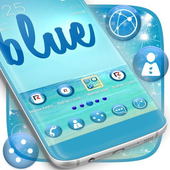 Blue Water Launcher icon