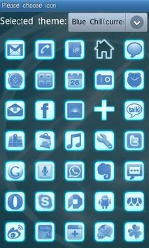 Blue Chill Go Launcher Ex screenshot 4