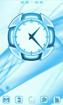 Blue Chill Go Launcher Ex poster