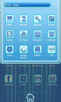 Blue Chill Go Launcher Ex screenshot 3