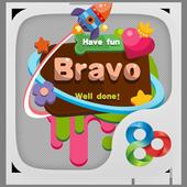 Bravo GO Launcher Theme icon