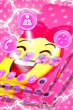 Cute Pink Launcher screenshot 2