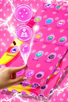 Cute Pink Launcher screenshot 3