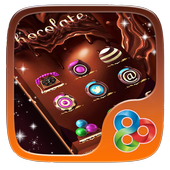 Chocolate Sweets Launcher Theme icon