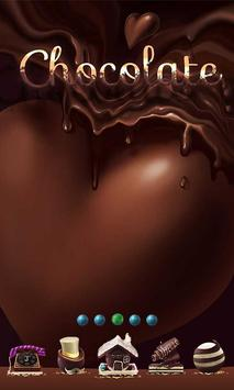 Chocolate GO Launcher poster