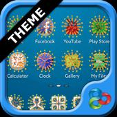 Fireworks GO Launcher EX Theme icon