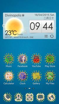 Fireworks GO Launcher EX Theme poster