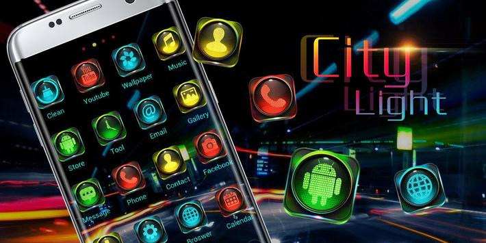 City Light GO Launcher Theme apk screenshot
