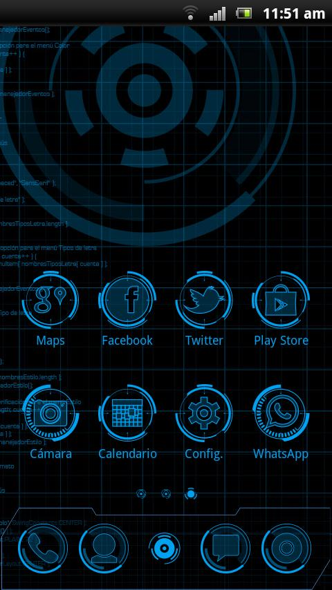 JARVIS MARK - Theme GO Launcher EX for Android - APK Download