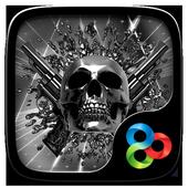 DEATH METAL GO Launcher Theme icon
