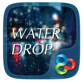 Drop Rain 3D Go Launcher Theme icon