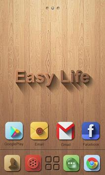 Easy Life GO Launcher Theme poster
