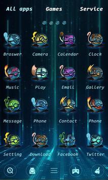 Elf GO Launcher Theme screenshot 2