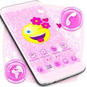 Flower Emoji 2018 Launcher icon