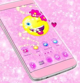 Flower Emoji 2018 Launcher apk screenshot