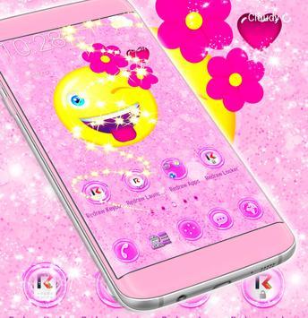 Flower Emoji 2018 Launcher screenshot 4