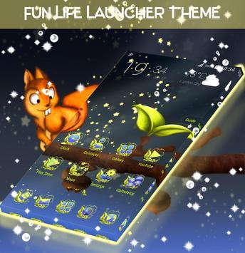 Fun Life Launcher Theme screenshot 1