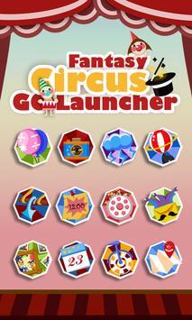 fantasycircus GO THEME poster